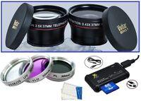 7-pc Super Saving Hd Accessory Kit For Jvc Everio Gz-hd320