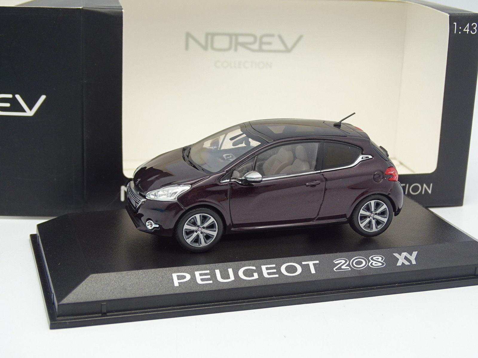 Norev 1 43 - peugeot 208 XY
