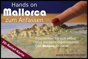 3D-Reliefkarte-Mallorca-3D-Landkarte-Massstab-1-400-000-Basiskarte-32-x-22-cm