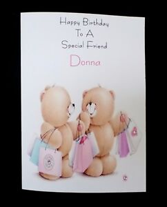 Handmade Personalised Birthday Card Special Friend Sister Granddaughter Daughter