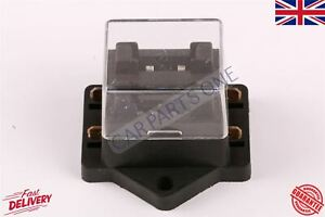 2 Way Circuit Standard Holder Universal With Cover NEW Mini Blade Fuse Box