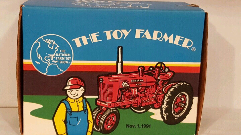 ERTL Farmall Super MTA 1/16 diecast coleccionables réplica de tractor de granja