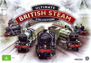 Ultimate Collection a vapore britannico NUOVO AMICO Documentari 10-DVD Set