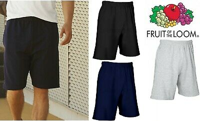 Fruit Of The Loom Mens Lightweight Summer Gym Running Football Casual Shorts New