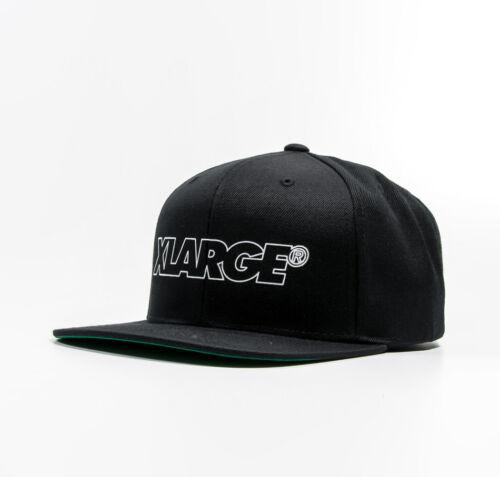X-LARGE KELLEN SNAPBACK HAT Cap Basecap black M17C9101-0001 NEU