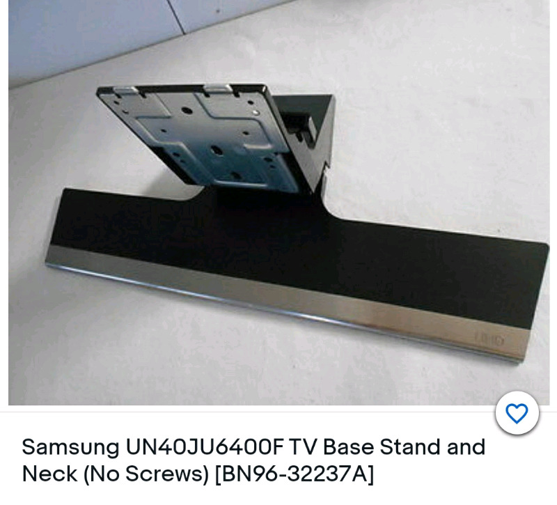 Samsung UHD base stand 650 full cash on collection