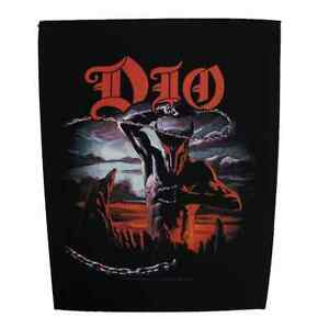 Dio-Official-Backpatch-Holy-Diver-Parche-de-Espalda-Ronnie-James-Dio-Heavy-Metal