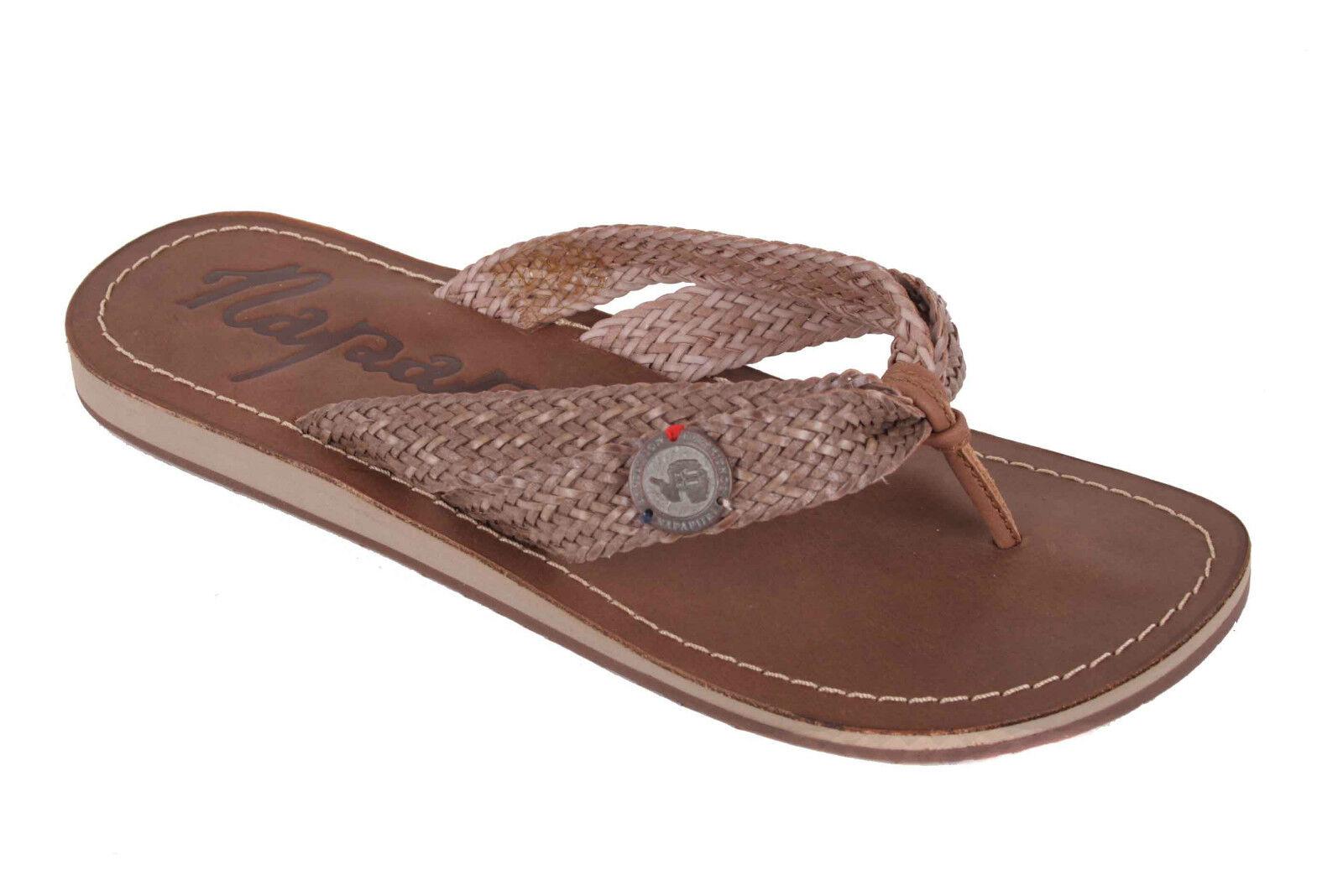 Napapijri Women's Sandals Sandals Sandals Toe Post Thongs Lele Dark Brown 9e7963
