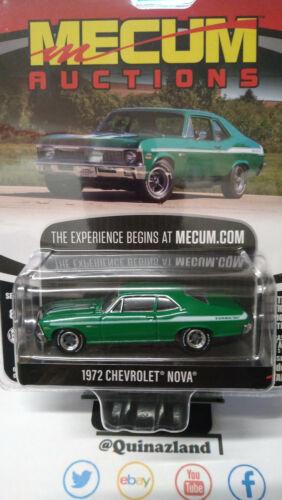 Greenlight Mecum 1972 Chevrolet Nova NG155