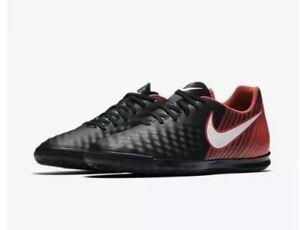 672651219d02 Nike Magista X Ola II IC Indoor Soccer Shoe 844409-061 Black Red ...