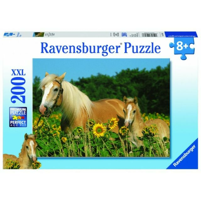 Ravensburger Happy Horses Puzzle 200pc