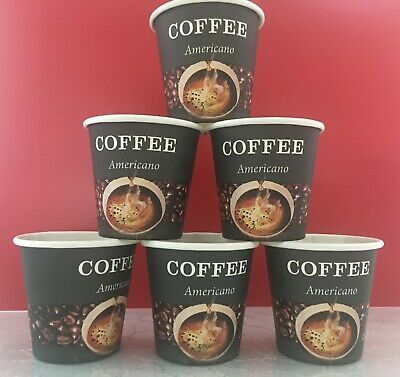 1000 Cup Disposable Hot Espresso Coffee Tea Paper Cups 2 Oz 60 Ml Ebay