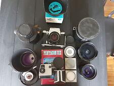 Pentacon Six TL Mittelformat Spiegelreflexkamera + 5 Objektive+ Zubehör