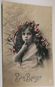 612-Antica-Cartolina-Colore-Bon-Baiser