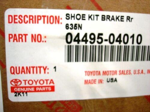 Toyota Tacoma Truck Rear Brake Shoes Set Genuine OE OEM