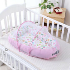 10 p CribBedSet //BumperALL ROUND//sheet//duvet//CANOPY//FreeStandHolder 100/% COTTON