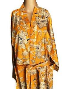 International Night Wear Gown Cotton Kimono Dress Floral Printed Women Tunic Long Dress Throw Kaftan Beach Cover up Indian Hand Block Print