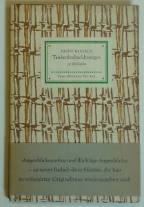 Insel- Bücherei Nr. 600 Taschenbucchzeichnungen mit Bauchbinde - Deutschland - Insel- Bücherei Nr. 600 Taschenbucchzeichnungen mit Bauchbinde - Deutschland