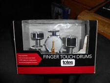 Totes Finger Touch Drums 5 LED Light Show Record- Play Back Music