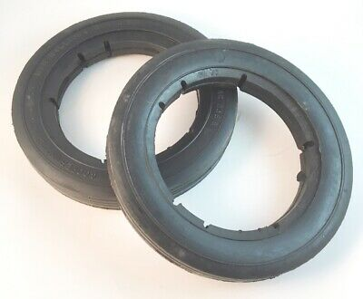 "2 /""NOS/"" 10 1//4 x 1 3//4 Cooper Klipper Reel Mower Rib Tires AC 236 B"