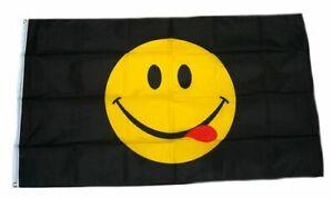Fahnen Flagge Smiley Neu 90 x 150 cm