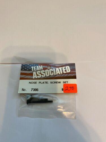 Team Associated Nose Plate Scre Set #7306