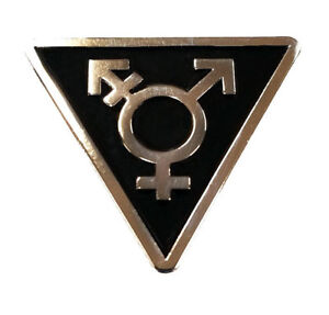 Transgender-Triangle-Black-and-Silver-Enamel-Lapel-or-Fabric-Pin
