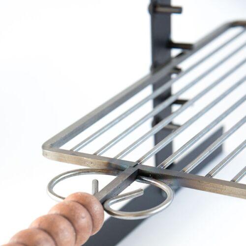 Grille Barbecue en Fer Réglable En Hauteur à Partir De 40 CM Pour Barbecue BBQ