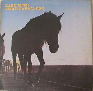 BABE-RUTH-Amar-Caballero-UK-8-Track-LP-With-Factory-Sample-Sticker-A1-B1-Matrix
