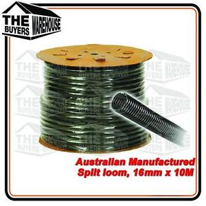 100% Premium Australian Made Split Loom Tubing Wire 16mm Conduit Cable 10m UV