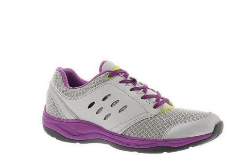 Vionic w  Orthaheel MOTION VENTURE  Lace Up shoes SILVER 5 M NIB