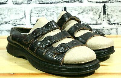 Clarks Sandals Women Springer Comfort Walking 3 Strap 81736 Leather Brown Size 9 | eBay