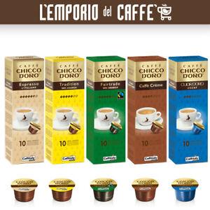Caffè Espresso Caffitaly System Chicco d'Oro 100 Capsule Cialde - GUSTI A SCELTA