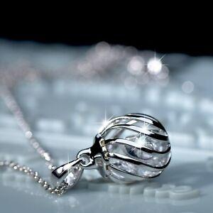 18k-rose-white-gold-made-with-SWAROVSKI-crystal-pendant-filigree-ball-necklace