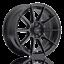 15x8 Advanti Racing Storm S1 4x100 25 Matte Black Wheel 1 Rim