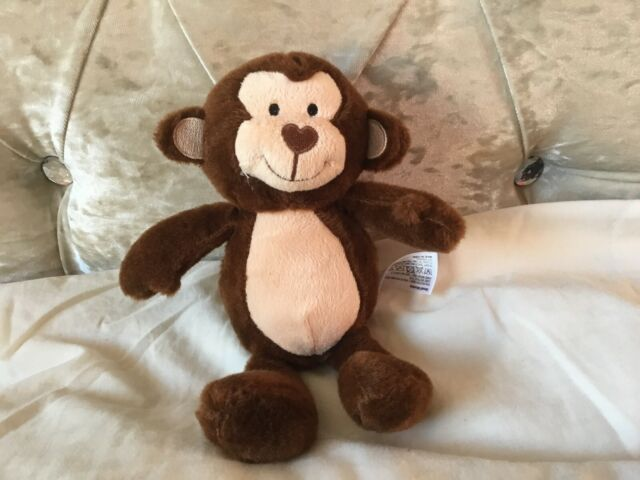 Monkey Soft Toys Magnetic Fridge Magnets Plush Cuddly Gibbon 15cm RANDOM 1FIGURE
