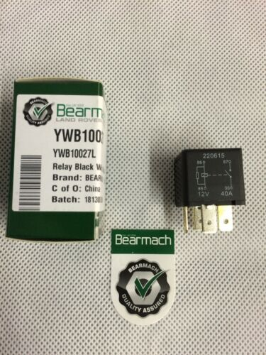 Bearmach Range Rover Classic 4 Pin Multi Purpose Relay ReplacesYellow YWB10027
