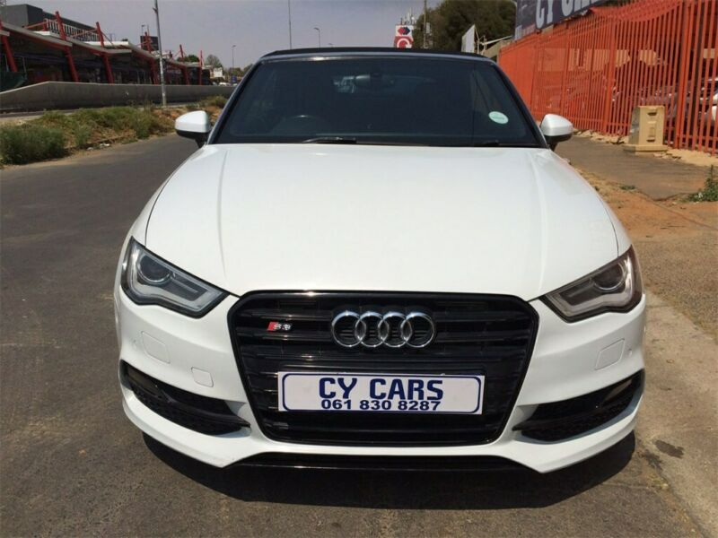 2015 Audi A3 Cabriolet 1.8 TFSI Ambition S Tronic convertible
