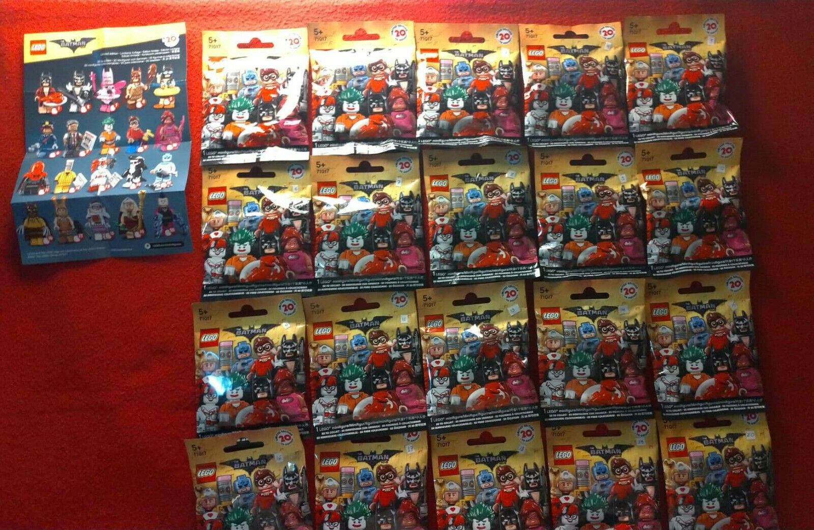 Lego Batman Movie Series 71017 Full Complet Set of 20 Minifigures - New   Sealed