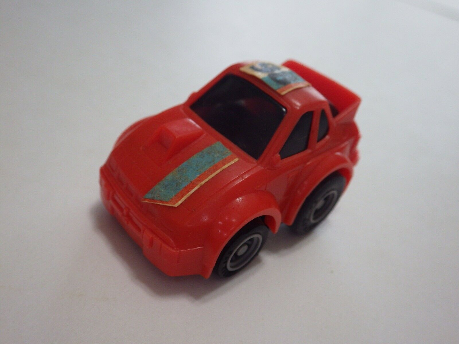 Takara (Taiwan) orange Porsche 924 Carrera Plastic Friction 48-mm