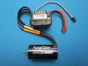 US Racerstar 4076 Motor Brushless Waterproof Sensorless 135A For 1//8 1//10 RC Car