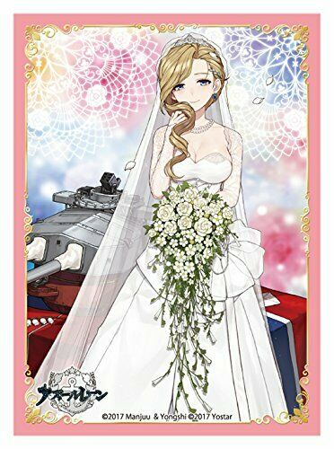 "Wedding /""Hood/"" Broccoli Character Sleeve Platinum Grade Azur Lane Ver"