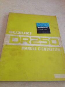 Suzuki-Dr-DR250-250-250DR-Manuell-Revision-Technik-Werkstatt-French-Edition-82