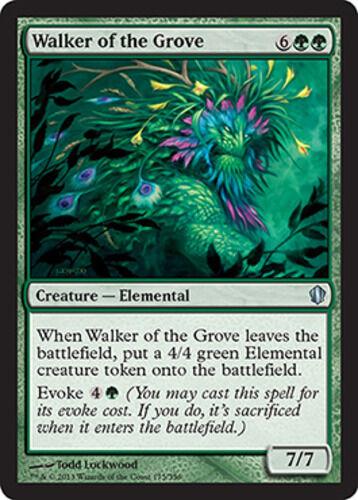 NM *CCGHouse* Magic MTG Walker of the Grove X4 Commander 2013