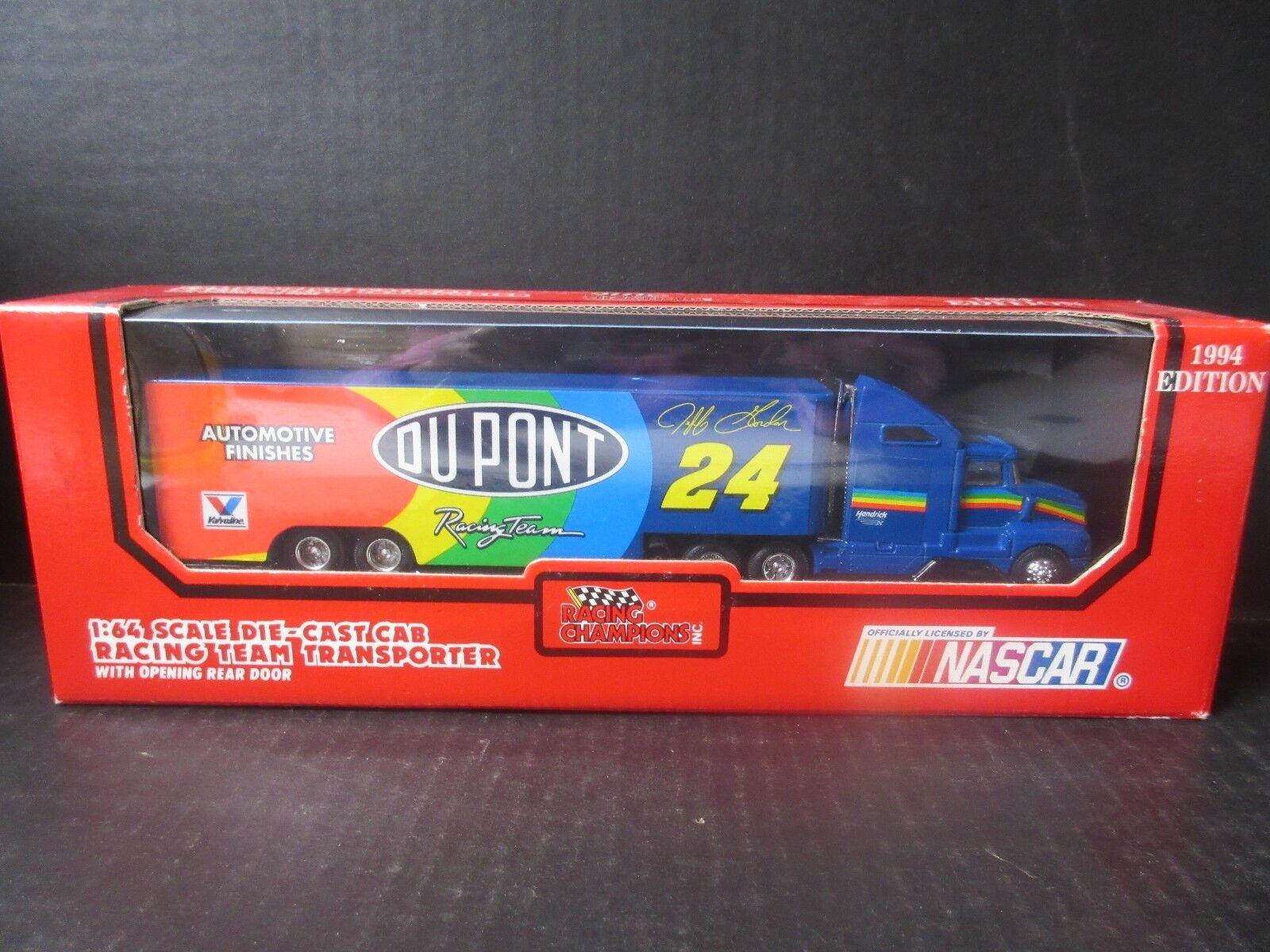 1994 Racing Champions Nascar Transporter Jeff Gordon -- 1 64th scale