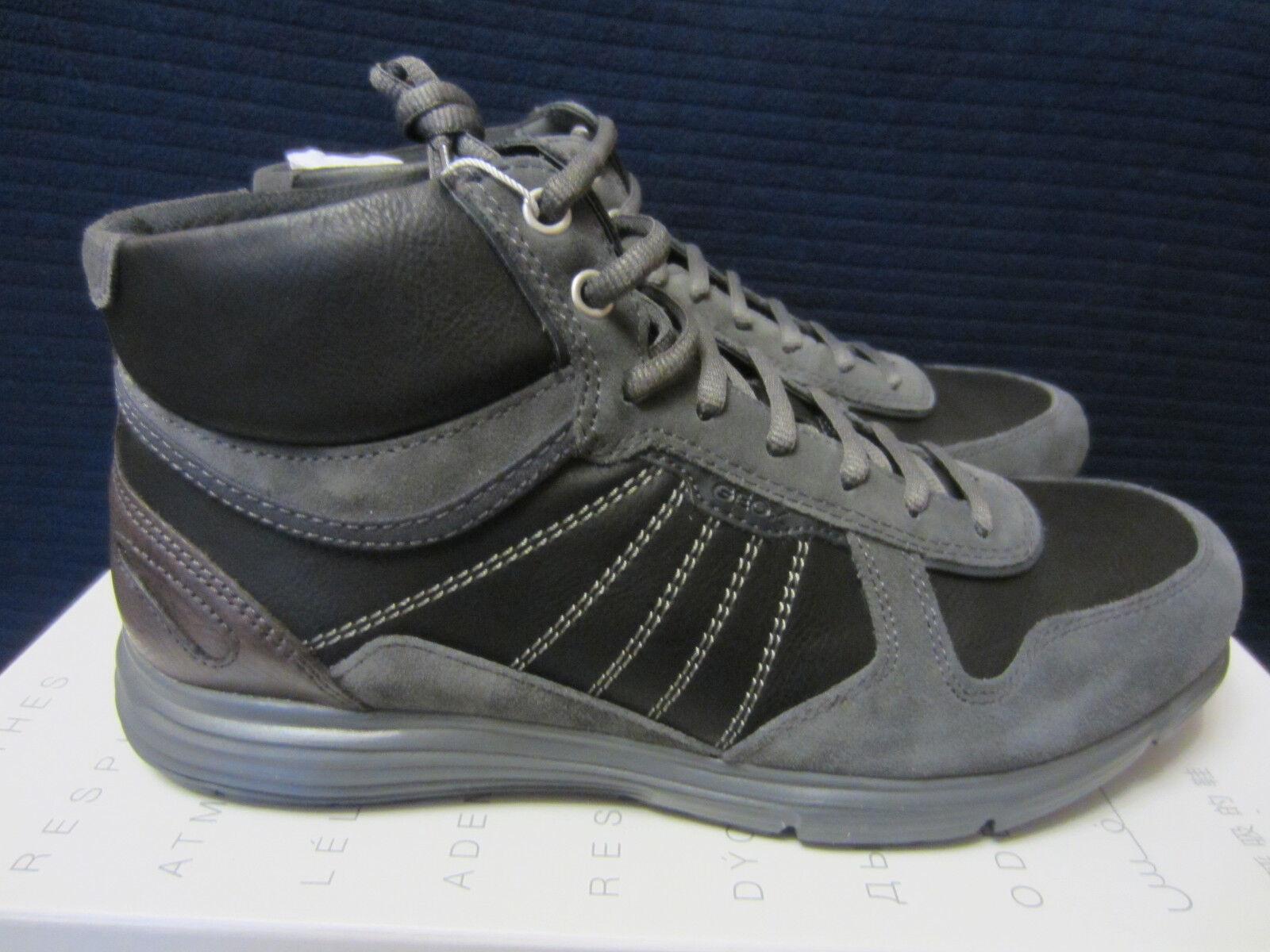 GEOX U Dynamic C U6476C Herren Sneakers Grau Gr.41, 42. Neu und OVP!