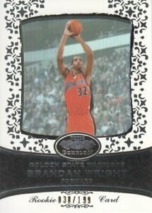2007-08 Topps Echelon Basketball #53 Brandan Wright RC /199