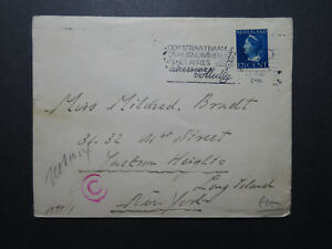 Netherlands-1941-Censor-Cover-to-USA-XII-Z10733