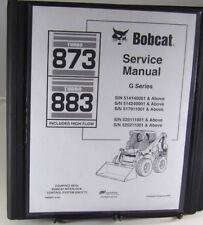 Bobcat 873 883h Skid Steer Loader Service Manual