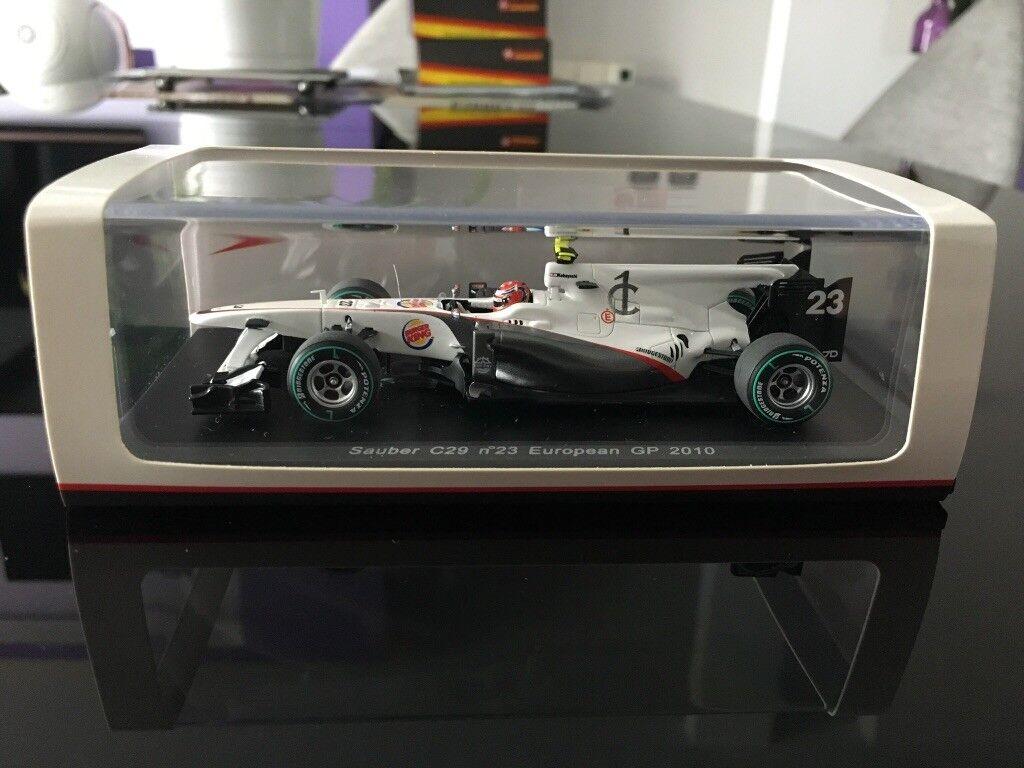 Spark 1 43 Sauber C29 N°23 European GP 2010 Kamui Kobayashi